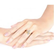 Deals, Discounts & Offers on Women - Malabar Gold and Diamonds R671026 18kt Diamond Yellow Gold ring