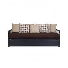 Deals, Discounts & Offers on Furniture - Furniture Kraft Brown Modern Sofa Cum Beds