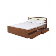 Deals, Discounts & Offers on Furniture - Nilkamal Trendz Queen Size Bed with Drawer Storage