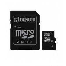 Deals, Discounts & Offers on Mobile Accessories - Kingston microSDHC Class 10 UHS-I 16GB Card