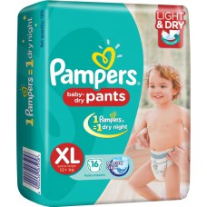 Deals, Discounts & Offers on Baby Care - Pampers Dry Pants-16pcs