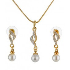 Deals, Discounts & Offers on Earings and Necklace - Oleva Austrian Diamond Pendant Set