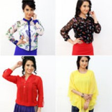 Deals, Discounts & Offers on Women Clothing - Femiro PO4 Ladies Tops