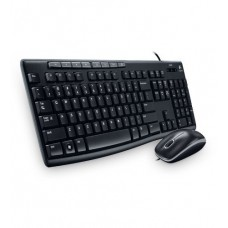 Deals, Discounts & Offers on Computers & Peripherals - Logitech MK200 Media Wired Keyboard and Mouse Combo