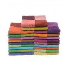 Deals, Discounts & Offers on Home Appliances - Rich Cotton Set of 20 Cotton Face Towel