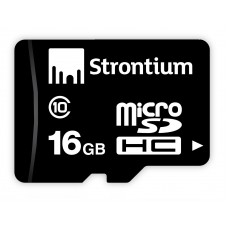 Deals, Discounts & Offers on Mobile Accessories - Flat 44% off on Strontium 16GB MicroSD Memory Card