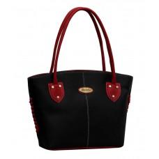 Deals, Discounts & Offers on Women - Fostelo Black P.U. Zip Shoulder Bag