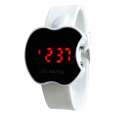 Deals, Discounts & Offers on Baby & Kids - Flat 74% off on Kissu White Apple Led Kids Watch