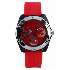 Deals, Discounts & Offers on Men - Flat 57% off on Optima Red Wrist Watch