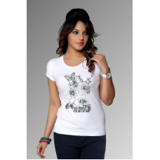 Deals, Discounts & Offers on Women Clothing - Clifton Women's T-shirt Graphic Intelligence Beautiful