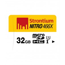 Deals, Discounts & Offers on Mobile Accessories - Strontium 32GB Nitro UHS1 70MB/s MSD Card