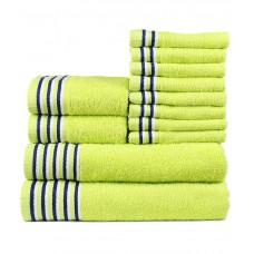 Deals, Discounts & Offers on Home Appliances - Trident Set of 12 Cotton Towels