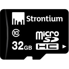 Deals, Discounts & Offers on Mobile Accessories - Strontium 32 GB MicroSD Card Class 10 24 MB/s Memory Card