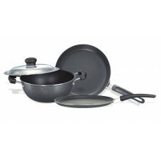 Deals, Discounts & Offers on Home & Kitchen - Prestige Omega Select Plus Non-Stick BYK Set