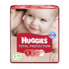 Deals, Discounts & Offers on Baby Care - Huggies Total Protection Diapers (small) Pack Of 46