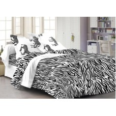 Deals, Discounts & Offers on Home Decor & Festive Needs - Cenizas Cotton Abstract Double Bedsheet