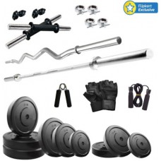 Deals, Discounts & Offers on Auto & Sports - KRX 30KG COMBO 2-WB Gym & Fitness Kit