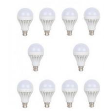 Deals, Discounts & Offers on Home Decor & Festive Needs - Flolite 18 Watt 15 Watt Set Of 10, 5 Each