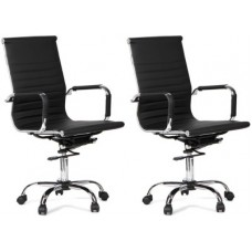 Deals, Discounts & Offers on Furniture - WOODSTOCK INDIA Leatherette Office Chair
