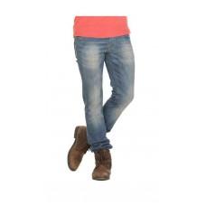 Deals, Discounts & Offers on Men Clothing - Adventure Blue Lycra Slim Fit Jeans