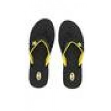Deals, Discounts & Offers on Foot Wear - Nexa Black and Yellow Slippers