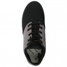 Deals, Discounts & Offers on Foot Wear - Globalite Men's Casual Shoes Crux Black Grey GSC0461
