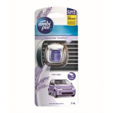 Deals, Discounts & Offers on Car & Bike Accessories - Ambipur Vent Clips Lavender Car Air Freshener 2 ml