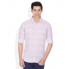 Deals, Discounts & Offers on Men Clothing - United Colors Of Benetton Pink Regular Fit shirt