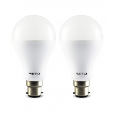 Deals, Discounts & Offers on Home Decor & Festive Needs - Wipro Garnet 14W LED Bulb (Pack Of 2)(Cool Day Light)