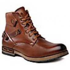 Deals, Discounts & Offers on Foot Wear - Bacca Bucci Brown Men Boots offer
