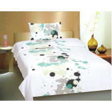 Deals, Discounts & Offers on Home Decor & Festive Needs - Ctm Textile Mills Polyester Abstract Single Bedsheet