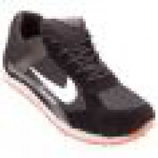 Deals, Discounts & Offers on Foot Wear - Mens Sports Pu Black Running Shoes