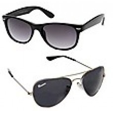 Deals, Discounts & Offers on Accessories - Winsome Combo Of Wayfarer And Sunglasses
