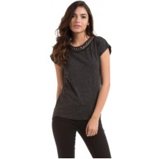 Deals, Discounts & Offers on Women Clothing - Prym Self Design Women's Round Neck T-Shirt