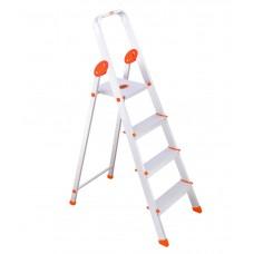 Deals, Discounts & Offers on Home Improvement - Bathla Aluminium 3 Step Ladder + platform
