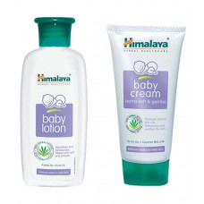 Deals, Discounts & Offers on Baby Care - Himalaya Super Saver Combo of Baby Body Lotion and Cream