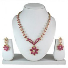 Deals, Discounts & Offers on Earings and Necklace - Flat 86% off on Sky Necklace Set