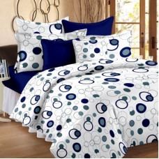 Deals, Discounts & Offers on Home Appliances - Story @ Home Cotton Polka Double Bedsheet