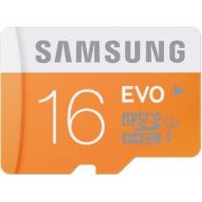 Deals, Discounts & Offers on Mobile Accessories - Samsung Evo 16 GB MicroSDHC Class 10 48 MB/s Memory Card