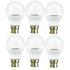 Deals, Discounts & Offers on Home Decor & Festive Needs - Crompton 7W LED Bulb Pack Of 6