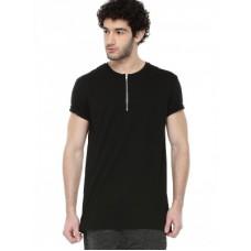 Deals, Discounts & Offers on Men Clothing - KOOVS Zip T-shirt