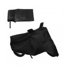 Deals, Discounts & Offers on Car & Bike Accessories - HMS Black Body Cover For All Scooties and Bikes Upto 150cc