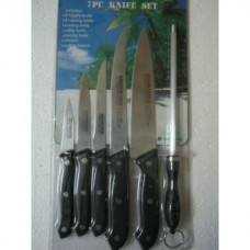 Deals, Discounts & Offers on Accessories - Executive Set Kitchen Knife Set Of 7Pc