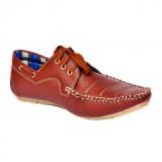 Deals, Discounts & Offers on Foot Wear - Shoeniverse Mens Brown Casual Shoe