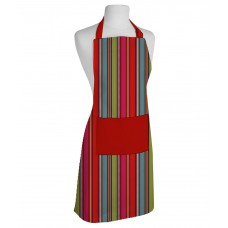 Deals, Discounts & Offers on Home & Kitchen - Airwill Multicolour Stripes Cotton Apron