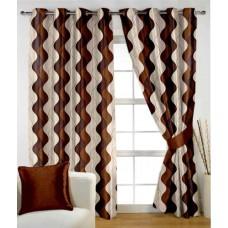 Deals, Discounts & Offers on Home Decor & Festive Needs - HOMEC Set of 2 Door Eyelet Curtains