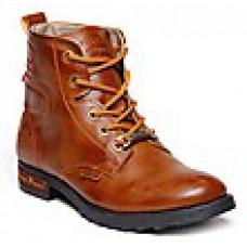 Deals, Discounts & Offers on Foot Wear - Bacca Bucci Tan Men Boots offer