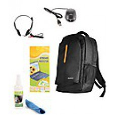 Deals, Discounts & Offers on Accessories - Lenovo Laptop Bag With Free Mouse, Headphone, Cleaning Kit And Key Guard