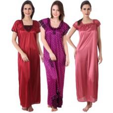 Deals, Discounts & Offers on Women Clothing - Flat 60% off on  Masha Night Dresses