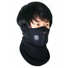 Deals, Discounts & Offers on Health & Personal Care - Spartan Black Neoprene Anti Pollution Half Face Mask